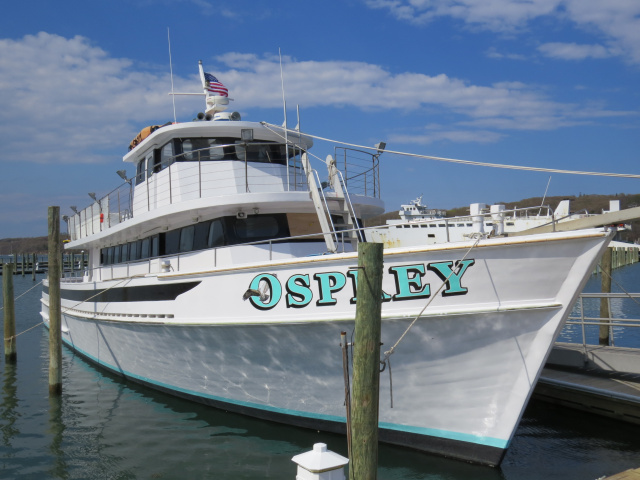 Osprey fishing fleet about us for Private fishing charters nj